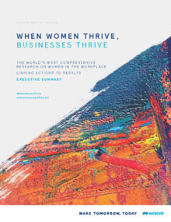 When Women Thrive Global Report